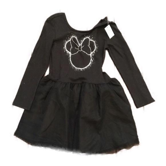 Old Navy Dresses Disney Minnie Mouse Black Dress Tulle 5t Poshmark